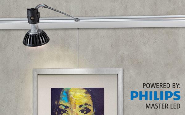 Адаптер для лампы системы освещения рельса Комби