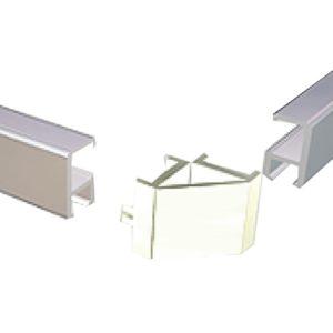 Универсальный соединитель для Рельса-Мини (2 заглушки мини или 1 Угловой соединитель)