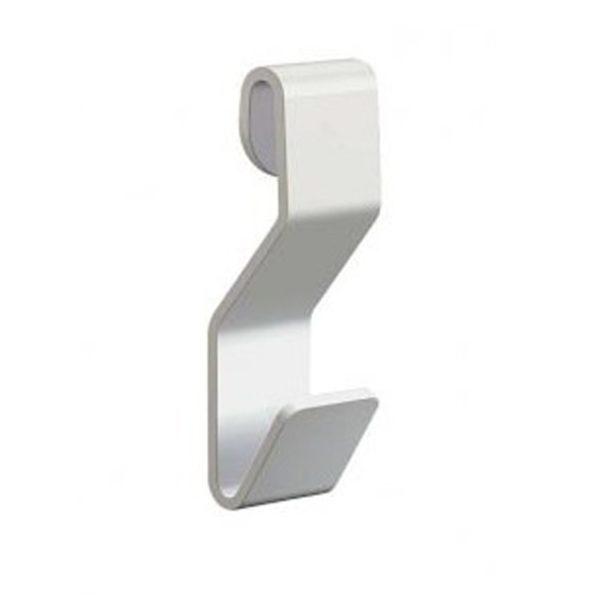 Крюк S-образный никель белый