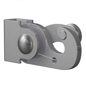 Крюк 40 кг для стержня 4 мм антивор