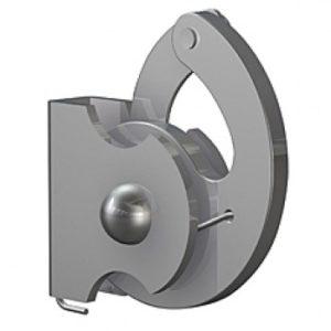 Крюк 100 кг для стержня 4 мм антивор