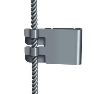 Зажим для планшетов на трос E-clip